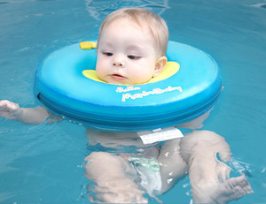 Wholesale swim trainer pool resale online - Water Sports Safer Baby Neck Float Non Inflatable Baby Swim Ring Circle Newborn Swim Trainer Swimming Pool Accessories for months