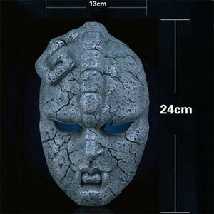 Wholesale Scary Masks Halloween Portrait Stone Jojo Bizarre Adventure Ghost Mask Medicos Horror Collection Festival Party Supplies xy gg