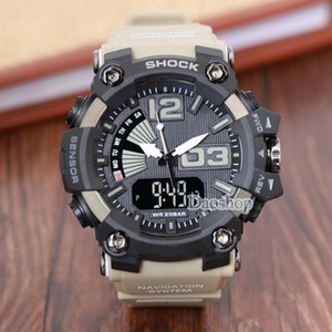 Wholesale GA1100 relogio mens sports watches outsdoor LED chronograph wristwatch PRW military digital shock watch good gift for men boy dropshipping