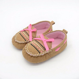 Wholesale Baby Infant Kid Boy Girl Soft Sole Sneaker Toddler Shoes New Style First Walkers sole for doll shoes