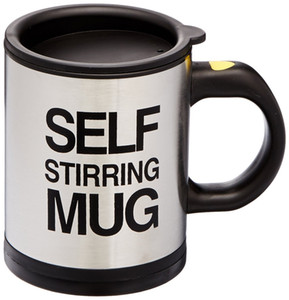 Wholesale Stocked Ml Self Stirring Mug Double Insulated Automatic Electric Coffee Cups Tea Milk Mixing Drinking Cup