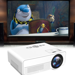 Wholesale New released S280 Decoding Led Light Projector Home Using Mini Projector for Christmas Gift free DHL shipping
