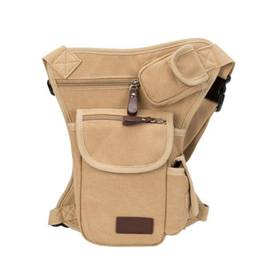 Wholesale Multifunction Outdoor Sport Leg Bag Canvas Waist Bag Thigh Pouch Money Belt Fanny Pack Bike Cycling New Thigh Tactical