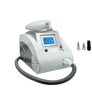 laser-maschine für pigment großhandel-2000MJ Touchscreen Q Switched nd yag Laser Tattoo Pigment Narbe Akne Entfernungsmaschine Augenbraue nm nm nm DHL