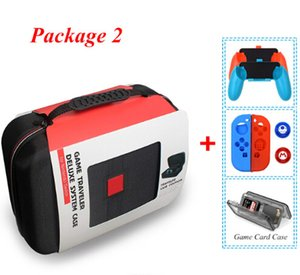 Wholesale Switch NS Console Carrying Storage Bag Hard Case Joystick Handle Grips Silicone Case For N Switch Accessories