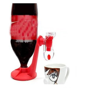 Wholesale Creative Drinking Soda Gadget Kitchen Tools Coke Party Drinking Dispenser Water Machine Red Color