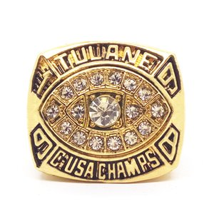 Wholesale Fashion Men s Ring TULANE C USA CHAMPS RINGS ELZYFactory Fast Shipping