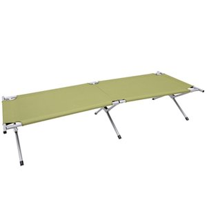 Wholesale Outdoor Camping Cot Military Hiking Sleeping Folding Case Travel