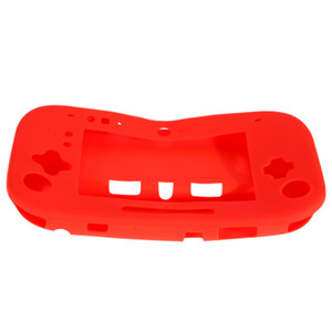 Wholesale controller sales resale online - Hot Sale Silicone Silicon Case Cover Skin Protector For Nintendo Wii U GamePad Controller