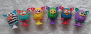 50pcs 1lot Mini Sucker Dolls kids owl Animal Cupule Suckers Action Toy Suction Cup Capsule Model Puppet Kids Gift Phone Accessories