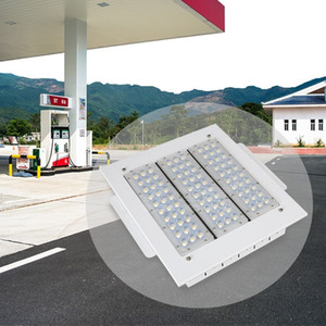 100W 120W 150W 200W Petrol Station Waterproof IP65 High Lumen Outdoor LED Canopy Lights AC 90-277V