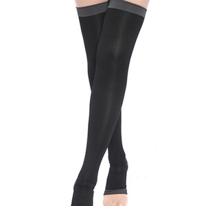 Wholesale Women Slim Candy Color Over Knee Stockings Sleeping Beauty Leg Warmer Compression Burn Fat Thin Stockings