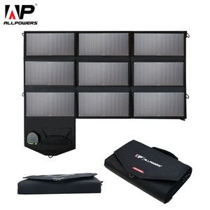 Wholesale W Phone Charger V V V Portable Foldable Solar Panel Charger Pack for iPhone Laptops Tablets Smartphones