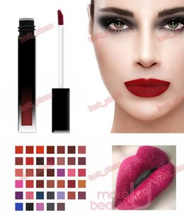 no logo Wholesale Multi-color Private Label Makeup Matte Lipgloss ,liquid lipstick Labial water cosmetics health beauty print your logo