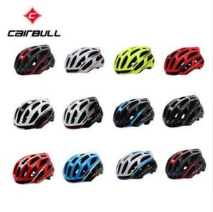 Wholesale CAIRBULL Road MTB Cycling Helmet Took Lightweight Breathable Bicycle Helmet Safety Warning Lights Colors Cycling Cap