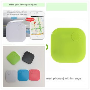 New Square Wireless Bluetooth Anti-lost Alarm GPS Tracker Itag Key Finder Voice Recording Anti Lost Selfie shutter for Ios Andriod Phone New
