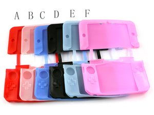 Wholesale 3ds xl for sale - Group buy Light Weight Soft Silicone Gel Dustproof Skin Case Protective Cover For DS XL LL