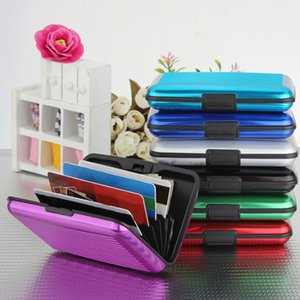 Wholesale New Business ID Credit Card Holder Wallet Mini Suitcase Bank Card Name Card Holder Box Case Cardholder Organizer For Women Men