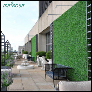 Wholesale Green Wall UV quality Artificial Grass Turindoor outdoor cm x cm Fake Grass Boxwood Natural Realistic Looking Garden Lawn