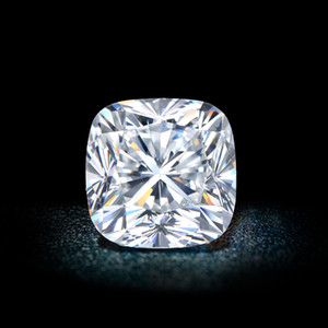 0.15Ct~6.0Ct(3MM~10.5MM) Cushion Cut With A Certificate D F Color VVS Clarity Synthetic Diamond Moissanite Diamond Loose Certified Diamond
