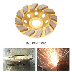 Wholesale stone grinding disc resale online - Freeshipping mm quot Diamond Segment Grinding Wheel Disc Bowl Shape Grinder Cup Concrete Granite Masonry Stone Ceramics Terrazzo Marble