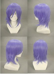 Free shipping++++ Xerxes Break Light Purple Anime Cosplay wig party