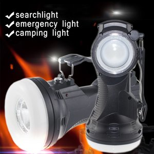 Wholesale New Solar Lamps mA V V Solar Rechargeable Portable Emergency Lantern Solar Flashlight Table Lamp Camping Light Tent Lamps