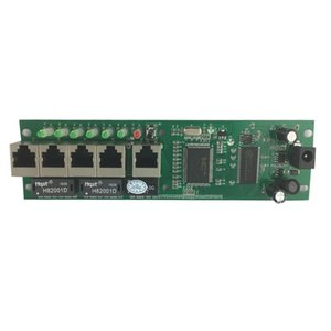 Mini size intelligent wired distribution box 5-port router modules OEM pcb module 192.168.0.1 wire router manufacturer