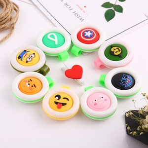 Wholesale New Lovely Mosquito Repellent Button For Home Baby Kids Buckle Outdoor Anti-mosquito Repellent Cute Cartoon Buckle