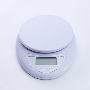Wholesale 1-5000g Electronic Weight Balance Kitchen Food Ingredients Scale High Precision Digital Weight Measuring Tool with Retail Box