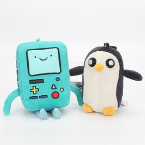 Wholesale Popular Adventure Time Plush Toy Doll Pendant Jack Finn Beemo BMO Penguin Knights Space Princess Ice King Cute Gift