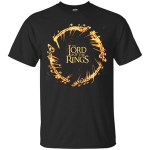 The Lord of the Rings Black Men's T-Shirt Tee (Design 2)