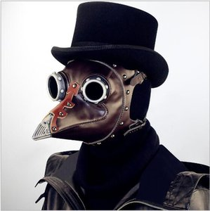 brinquedos medievais venda por atacado-Hot Steam punk Plague Bird Doctor Nariz Cosplay Fantasia Medieval Gótico Steampunk Retro Máscara de Rock para o Partido Do Disfarce de Halloween Traje de Brinquedo