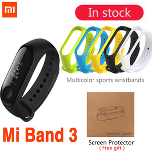 Wholesale Original Xiaomi Mi Band Smart Wristband Bracelet Band OLED x Touch Screen battery mAh Pulse Heart Rate Step Time