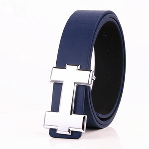 Wholesale 2018 New Famous Brand Designer Belts Men High Quality Mens Belts Luxury Genuine Leather Pin Buckle Casual Belt Waistband