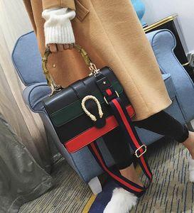 Women Designer Handbag Shoulder bag cross body bag Tote Bags with Bamboo handle 2018 NEW
