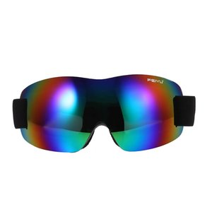 Wholesale Single Lens Ski Goggles Women Men Windproof Anti fog Skiing Cycling Glasses
