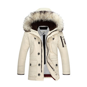 Wholesale Vêtements pour hommes doudoune mens designer winter coats down jacket long sleeve cardigan winter luxury jacket