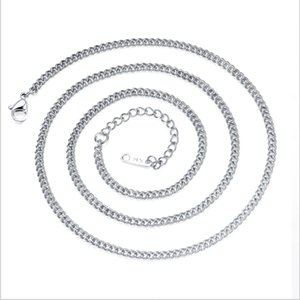Wholesale high quality Titanium Steel Single Chain Necklace Factory Price Direct Wild Allergy Valentine s Day Gift