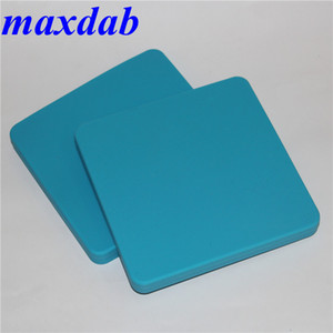 Large capacity 200ml square silicone container full food grade non stick dry herb silicone dab wax container Silicon jar with FDA approved