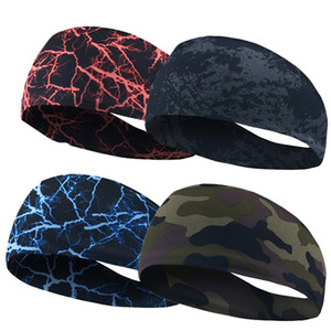 Sport Headband Men Women Unisex Under Sweat Wicking Stretchy Athletic Bandana Headscarf Yoga Headband Head Wrap Best Sports Exercise