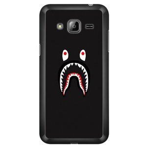 Wholesale Design Cool camouflage shark Phone Covers Shells Hard Plastic Cases For Samsung Galaxy J3 J5 J7