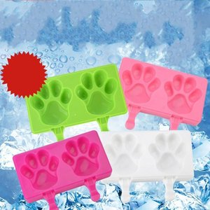 Belt Cover Bear Paw Silica Gel Ice Cream Mould Popsicle Mold Originality Cake Chocolate Molds Cartoon Moulds Baking Tool 9 5sh ff