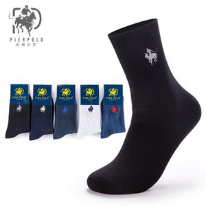 Wholesale 5 Pairs New Brand Fashion Mens Business Socks High Quality Casual Long Socks For Men Calcetines hombre
