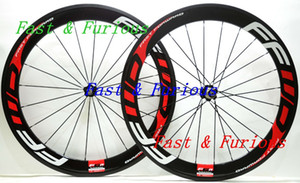 Free Shipping!!F6R Carbon Wheels 60mm Clincher tubular Road Bike Carbon Wheel 700C 25mm width Road Bike