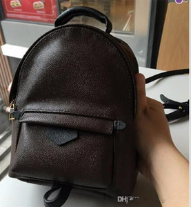 Hight quality Women's Palm Springs Mini Backpack PU Leather children backpacks women printing leather Mini backpack 41560