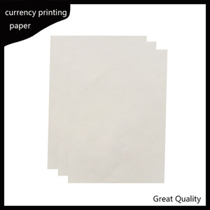 216*279mm printinng paper 75% cotton 25% linen pass counterfeit pen test paper high quality hot sale in USA