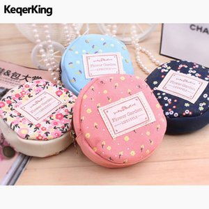 Wholesale Fashion Women Mini Wallet Simple Style Small Coin Purse Nectar Round Cute Korean Bags for Lady Bag Vintage Storage Bags