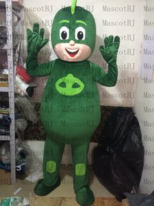 Wholesale professional PJ MASKS Jasper GREEN MASCOT Mascot Costume Halloween Christmas Birthday Props animal Costumes fur Outfi
