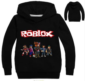 Wholesale Roblox Hoodies Shirt For Boys Sweatshirt Red Noze Day Costume Children Sport Shirt Sweater For Kids Long Sleeve T-shirt Tops